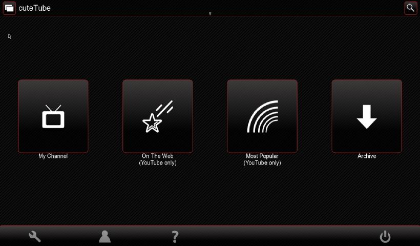 qmltube: Port/fork of cutetube-qml for Linux, MeeGo Netbook